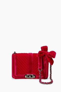 Rebecca Minkoff Velvet Chevron Quilted Small Love Crossbody - ONE COLOR - STYLE