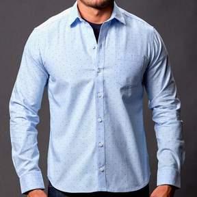 Blade + Blue Blue with Burgundy Polka Dot Shirt - Power