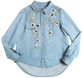 Ermanno Scervino Embroidered Chambray Shirt