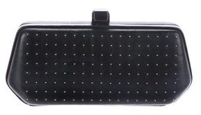 Rebecca Minkoff Studded Leather Fling Box Clutch - BLACK - STYLE