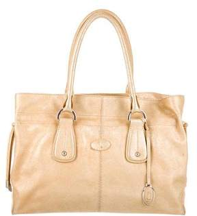 Tod's Metallic Leather Bag