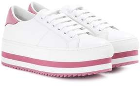 Marc Jacobs Leather platform sneakers