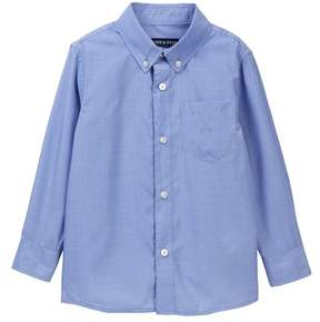Andy & Evan Classic Blue Chambray Shirt (Toddler & Little Boys)