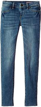 Blank NYC Kids Denim Skinny with Distressing in Bandit Girl's Casual Pants