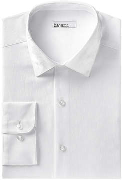 Bar III Men's Slim-Fit Stretch Easy-Care Large Jacquard Floral Dress Shirt, Created for Macy's