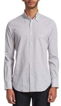 Loro Piana Check Button-Down Shirt