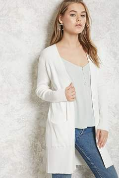 Forever 21 Longline Ribbed Cardigan