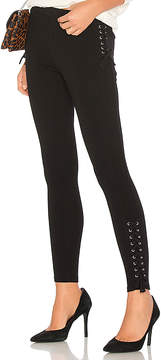 Bobi Luxe Lace Up Leggings