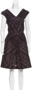 Bill Blass Embellished A-Line Dress