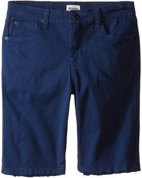 Hudson Stretch Twill Five-Pocket Shorts in Treasure Indigo (Little Kids)