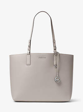 Michael Kors Cameron Reversible Leather Tote - GREY - STYLE