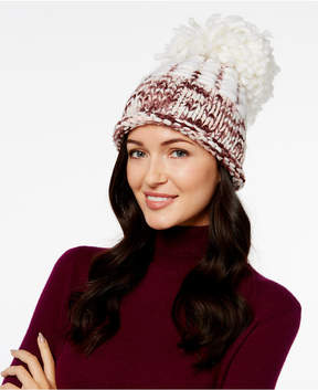 BCBGeneration Spacedyed Super Pom Pom Beanie