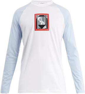 Givenchy Cuban-fit long-sleeved cotton T-shirt