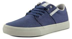 Supra Stacks Vulc Ii Youth Round Toe Canvas Blue Skate Shoe.