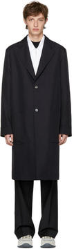 Marni Navy Long Coat