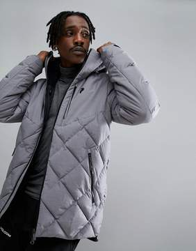 Peak Performance Alaska Melange Jacket In Gray