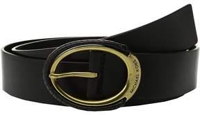 MICHAEL Michael Kors 38mm Belt w/ Wrapped Buckle Women's Belts