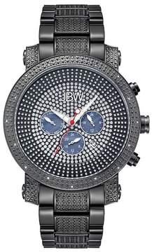 JBW Men's Victor Diamond Bracelet Watch - 0.16 ctw