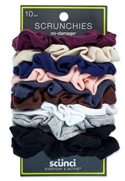Scunci Everyday & Active No Damage Large Interlock Twister Scrunchies - 10pk