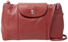Longchamp Women's Le Pliage Cuir Small Leather Crossbody