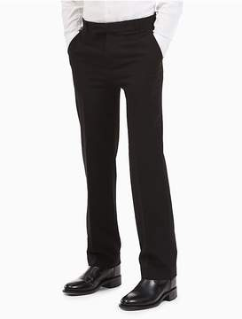 Calvin Klein Boys Bi-Stretch Husky Pants