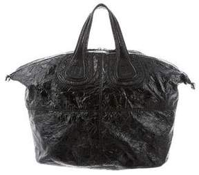 Givenchy Patent Leather Nightingale Bag