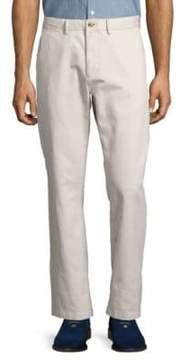 Black & Brown Straight-Leg Pants