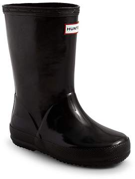 Hunter First Gloss Rain Boots - Walker, Toddler, Little Kid