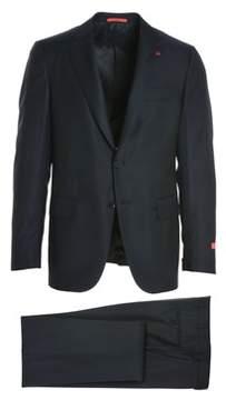Isaia Men's Blue Wool Suit.