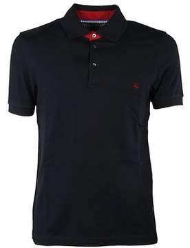 Fay Men's Npmb236139sit0u807 Blue Cotton Polo Shirt.