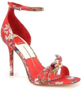 Dolce Vita Helana Floral Print Dress Sandals