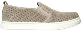 Il Gufo Perforated Suede Slip-On Sneakers