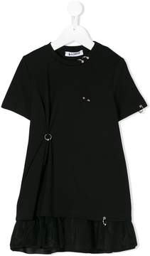 Dondup Kids embellished T-shirt dress