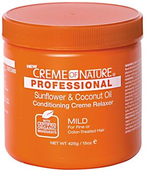 Creme of Nature Professional Sunflower & Coconut Oil Conditioning Mild Creme Relaxer