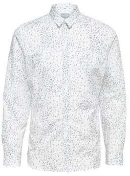 Selected Printed Button-Down Shirt