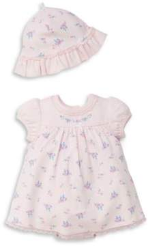 Little Me Baby Girl's Two-Piece Floral Popover Dress Set