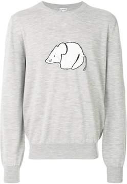 Loewe mouse print sweater