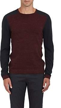 John Varvatos Men's Colorblocked Cotton-Wool Sweater