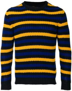 Piombo Mp Massimo striped jumper