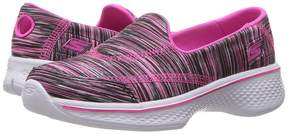 Skechers Go Walk 4 81135L Girl's Shoes