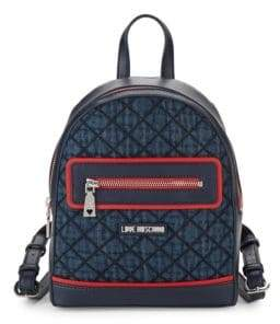 Love Moschino Denim Backpack