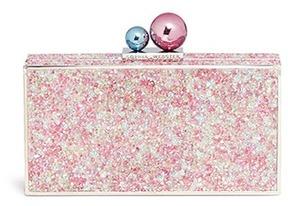 Sophia Webster 'Clara' iridescent crystal embellished box clutch