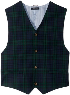 Tommy Hilfiger Shadow Plaid Vest Boy's Vest