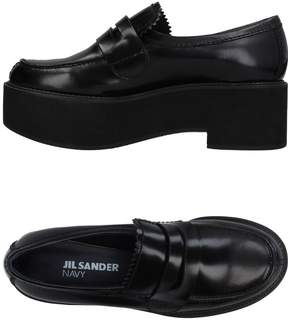 Jil Sander Navy Loafers