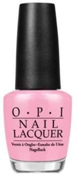 OPI Nail Lacquer Nail Polish, Pink-ing Of You.