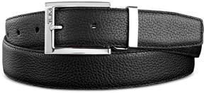 Tumi Men's Pebbled Leather Reversible Belt