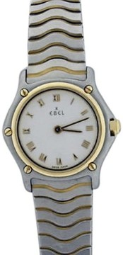 Ebel Sport Wave 18K Gold and Stainless 22mm Watch