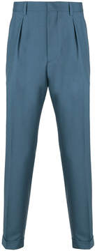 Prada pleated tailored trousers