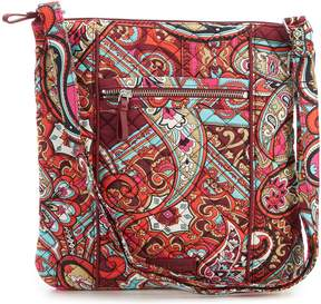 Vera Bradley Iconic Printed Hipster Cross-Body Bag