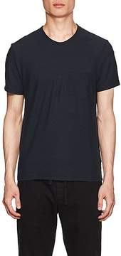 James Perse MEN'S COTTON-LINEN JERSEY CREWNECK T-SHIRT